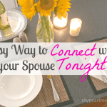 Connect With Your Spouse TONIGHT
