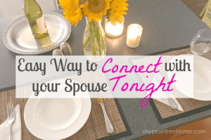 connect with your spouse