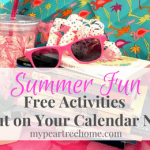 Summer: Things You Can Plan Now! *With Printable