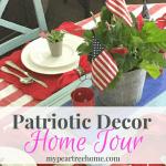 Patriotic Summer Decor *With Free Printables