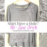 No-Sew Shirt Fix