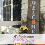 "Porch ""Welcome"" Sign"