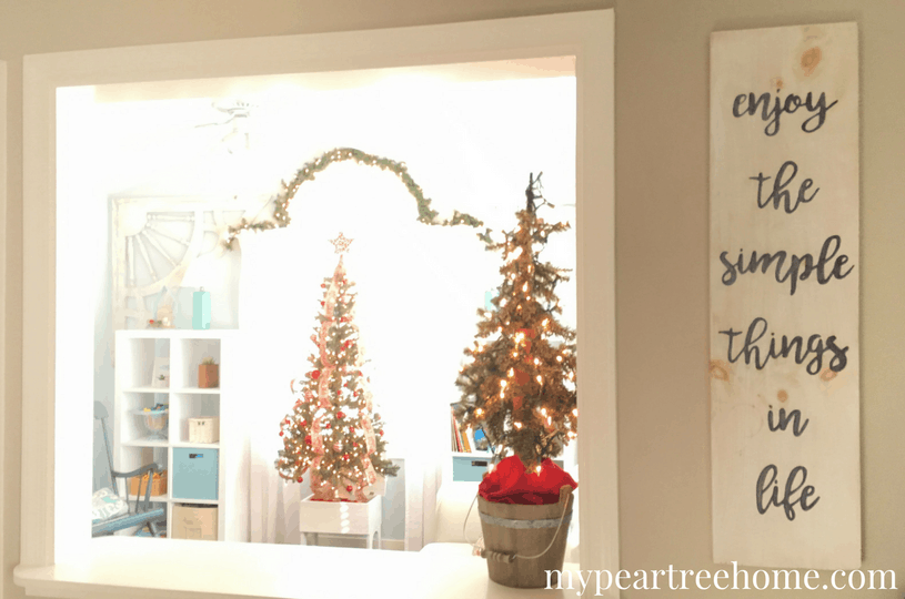 Want to get some ideas for decorating your home on a budget? Click on the post to see this amazing group of 9 bloggers as they share their home decked for the holidays!
