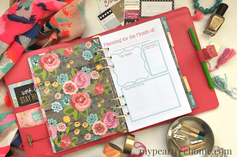 Life feel chaotic? Want to get it under control and organized? Use these FREE printable planner pages and whip your schedule into shape! Weekly printable pages and a monthly planning sheet will help you set priorities and be more productive. Click to the post!