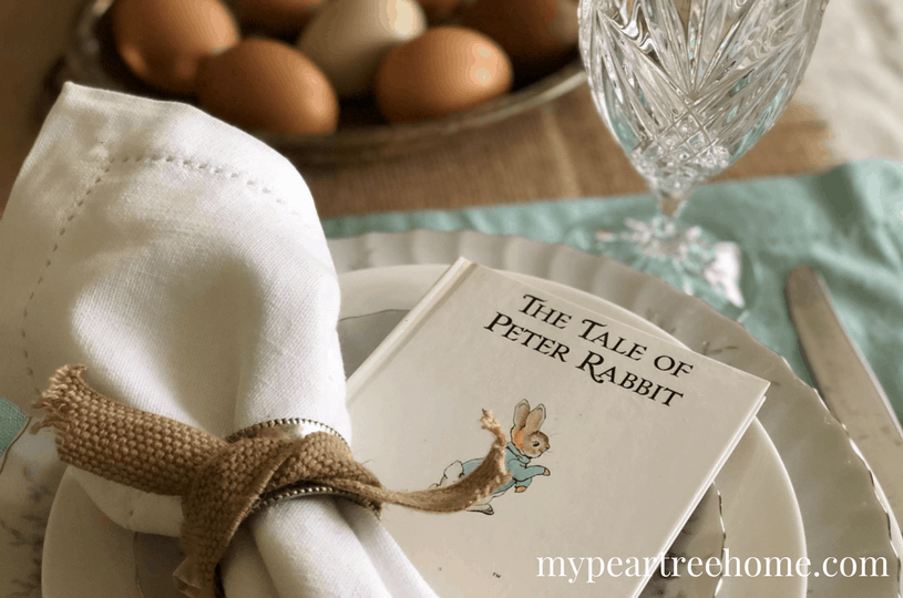 simple ways to create a beautiful table setting this Easter