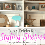 Decorating Shelves-My TOP 5 EASY TIPS