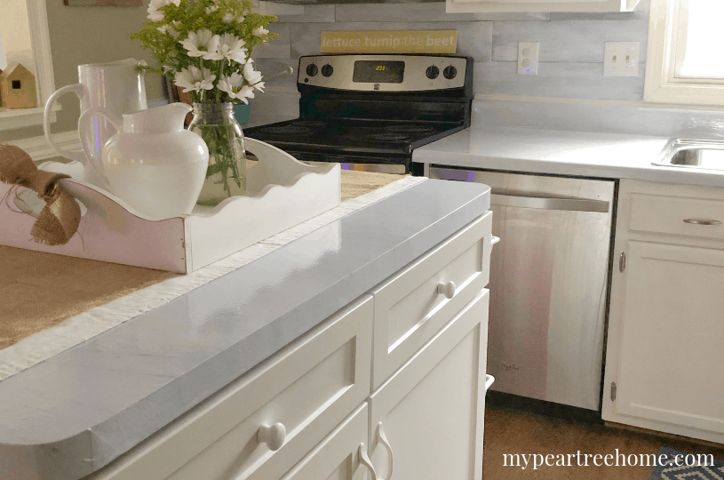 DIY marble counters