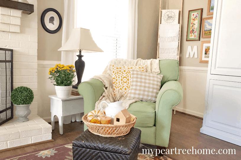 easy blanket ladder for your living room
