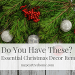 5 Christmas Decor Essentials