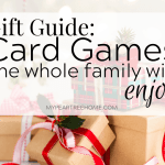 Card Games for Families: Christmas Gift Guide