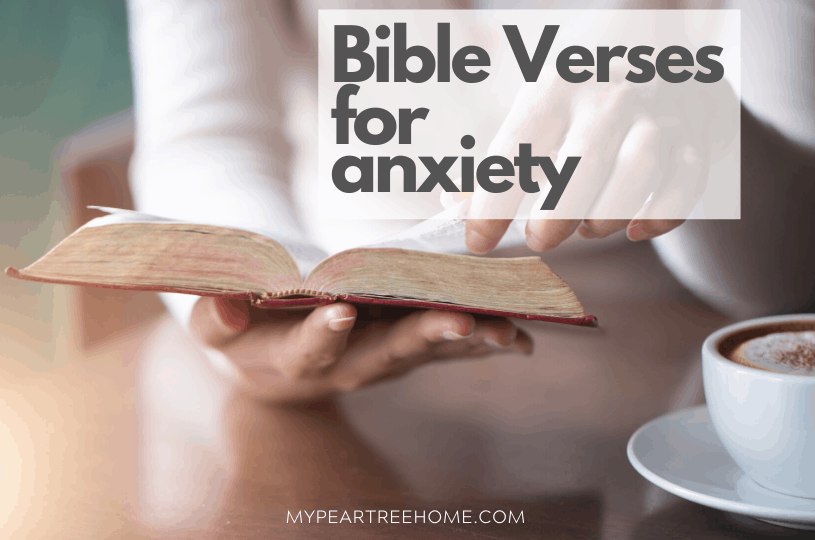 Bible verses for anxiety