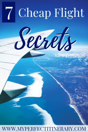 How to get cheap flights using these 7 cheap flight secrets