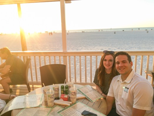 Palm Pavilion Restaurant on Clearwater Beach, Florida