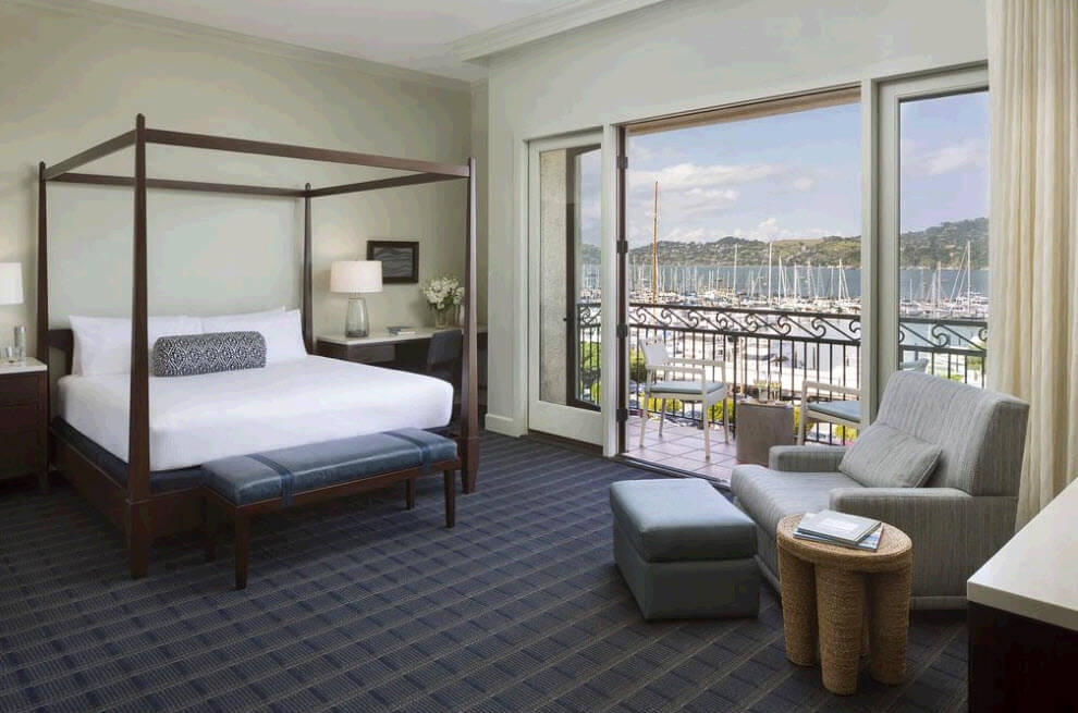 Best hotels in San Francisco with a view Casa Madrona Hotel