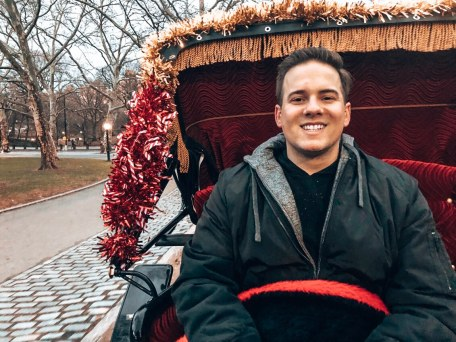 Carriage ride through Central Park in New York City