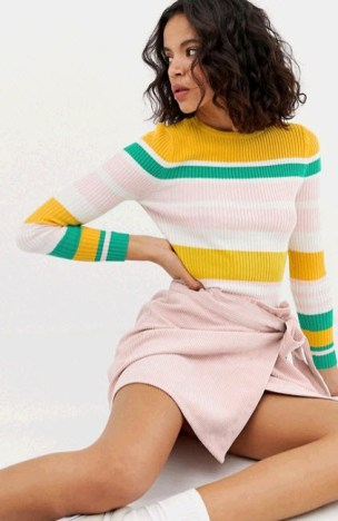 Patel Striped Sweater for Winter Travel