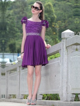 purple dama dress