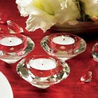 Crystal Diamond Tealight Holders