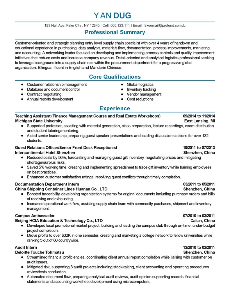 Document Control Specialist Cover Letter Professional Supply Chain Specialist Templates To Showcase Your