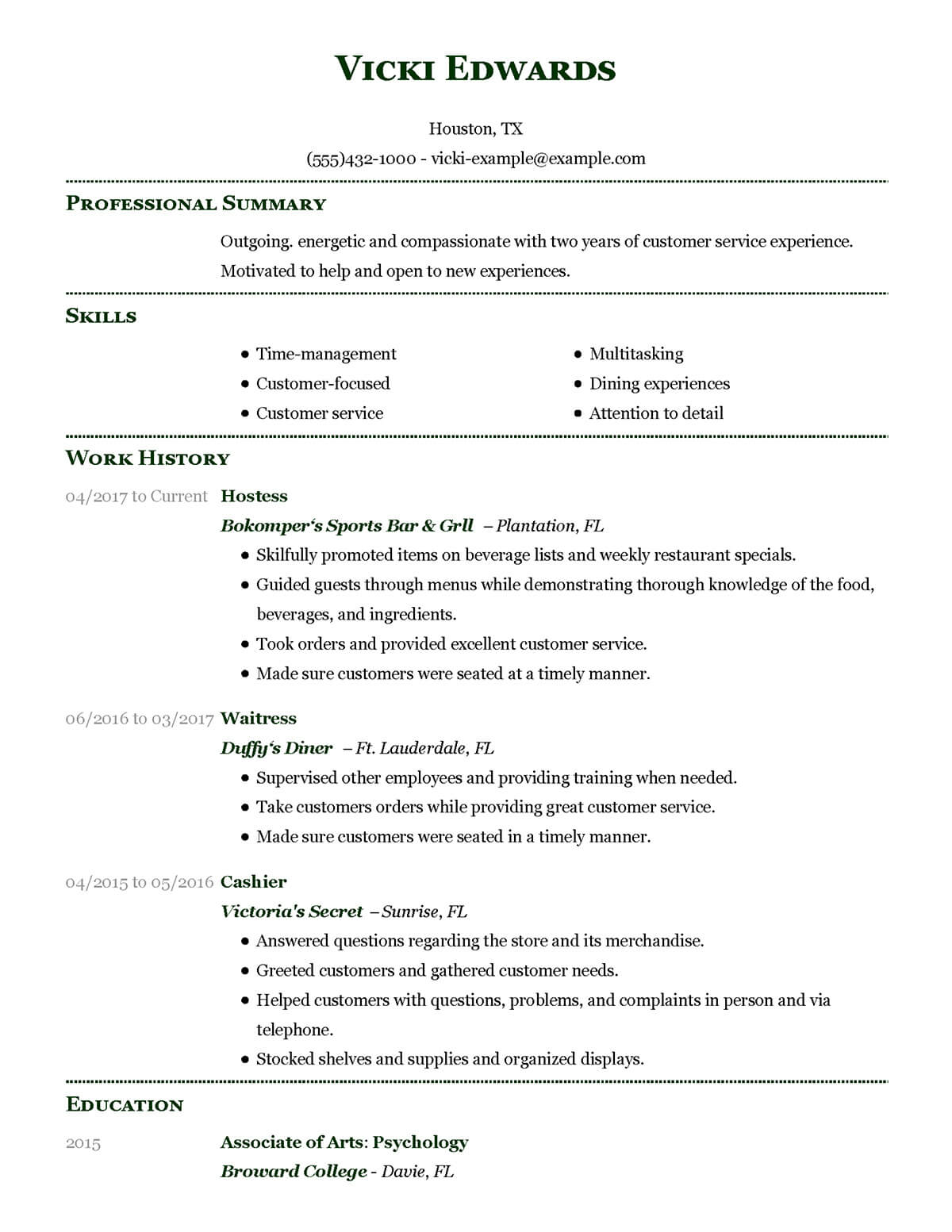 How To Set Out A Resume Australia Resume Template Australia 2018