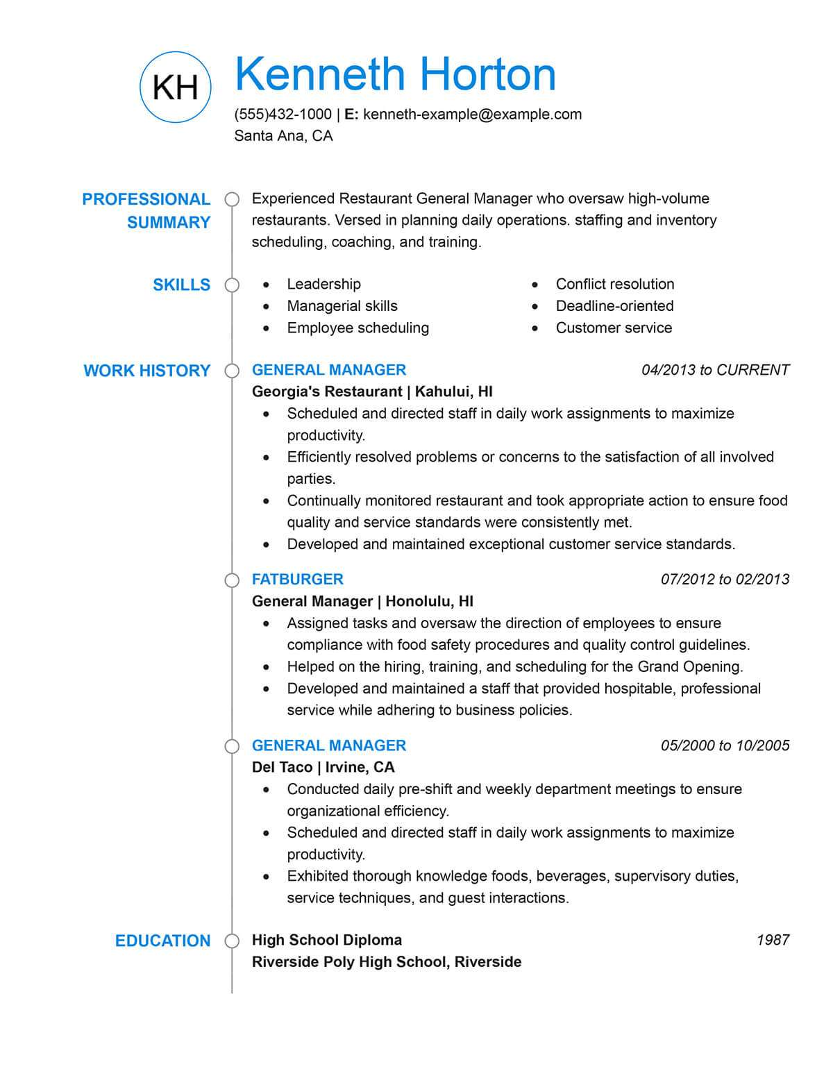 Waitress Duties For Resume Unforgettable Restaurant Server Resume Examples To Stand Out