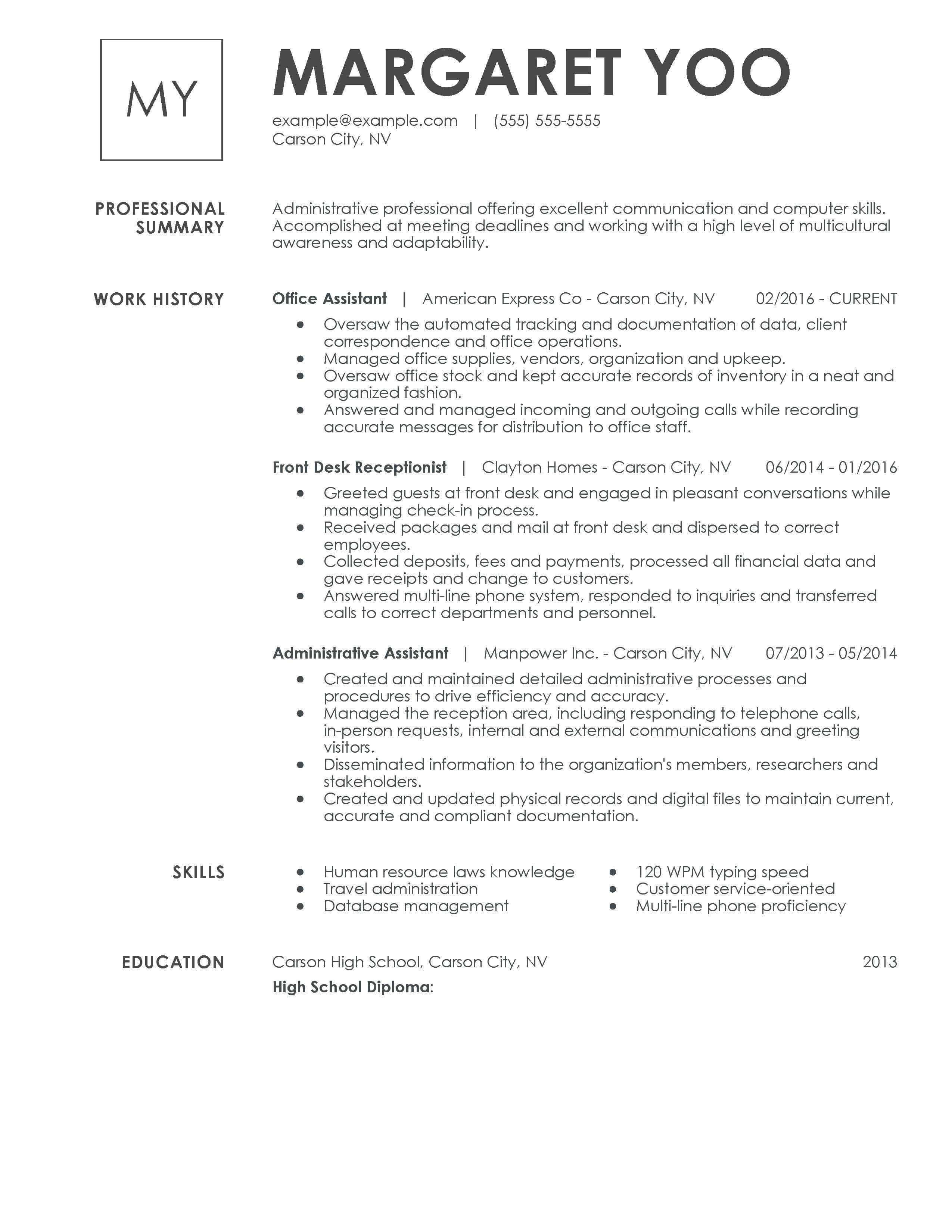 Objective For Receptionist Resume Unforgettable Receptionist Resume Examples To Stand Out