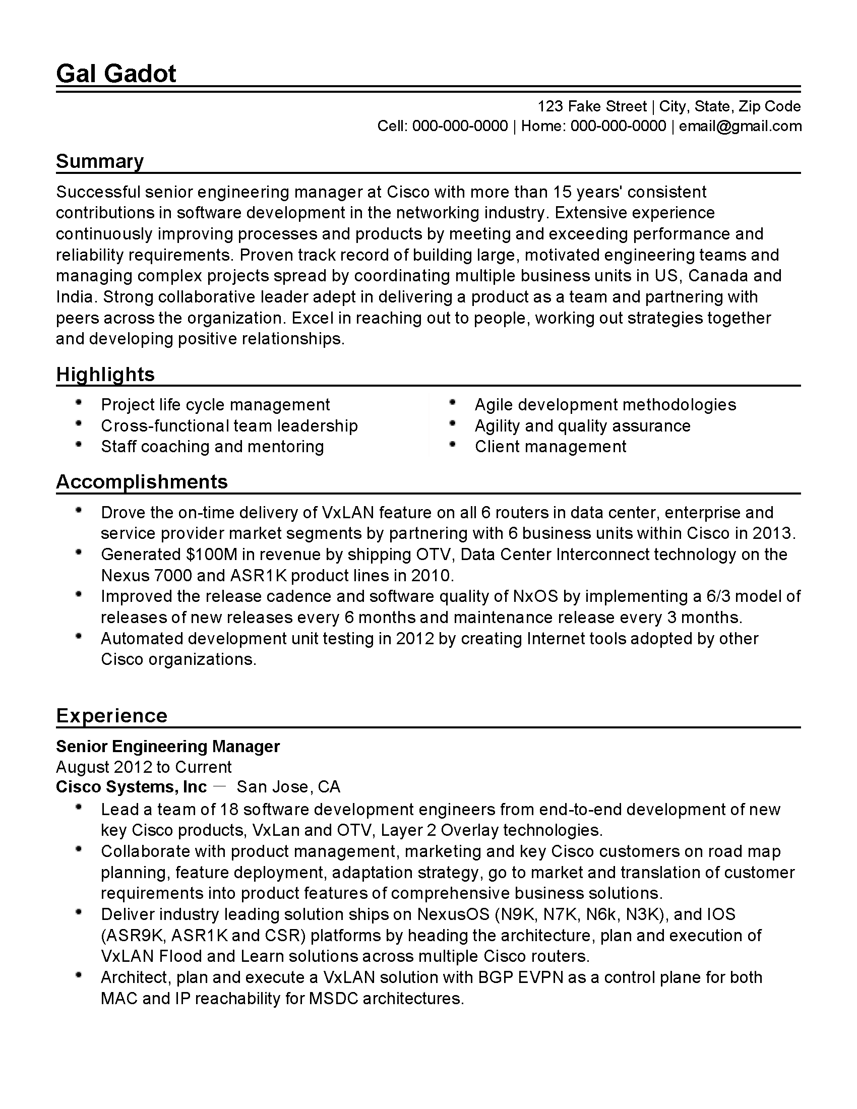 Senior Management Resume Templates Senior Management Resume Templates Gallery Professional