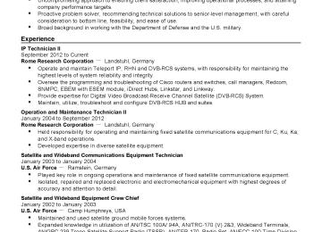 Telecom Technician Cover Letter | Satellite Technician Cover Letter ...