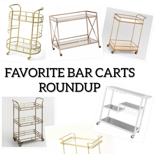 Bar Cart Roundup
