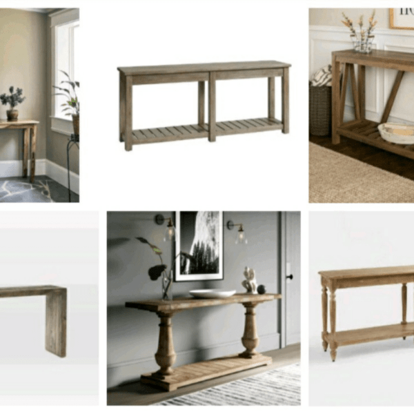 Console tables for every budget