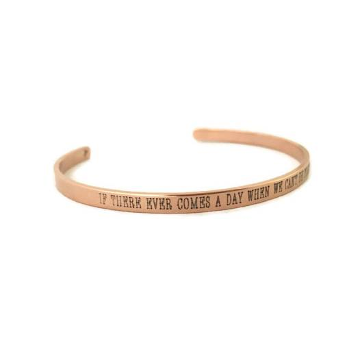 If There Ever Comes A Day, Literary Quote Jewelry