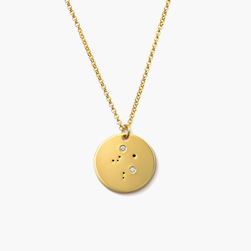 Libra-Zodiac-Necklace-with-Diamonds-Gold-Plated