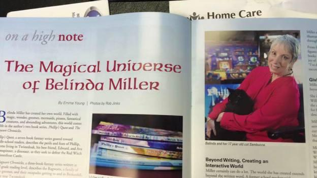 Belinda Miller, Writer, PWC Arts Council