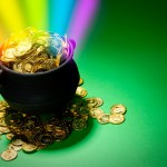 Pot of Gold at end of rainbow Abundance Right Work