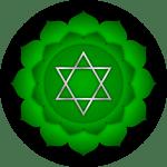 green heart chakra by Peter Lomas