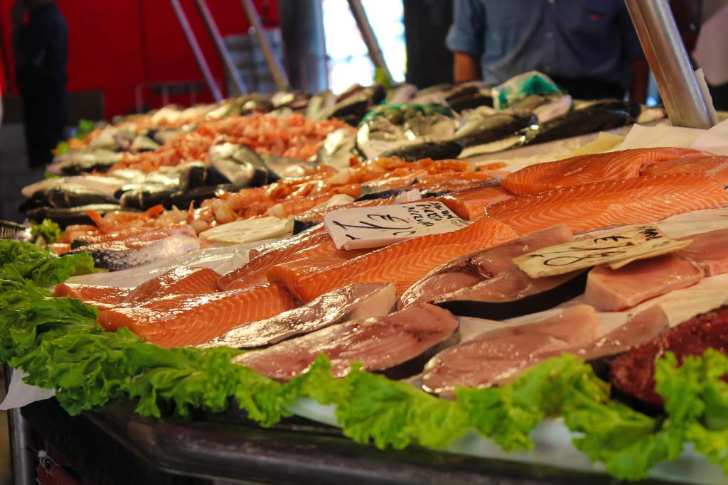 Image of Fish in the blog safe and toxic food for dog