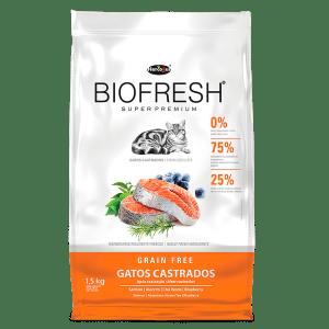 Biofresh Gato Castrado Salmón 7.5 Kg
