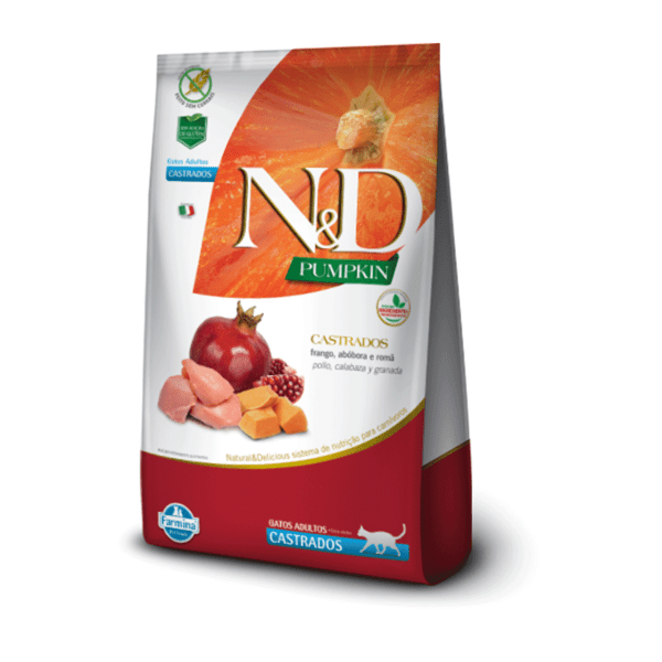 N&D Gato Castrado 1,5 Kg