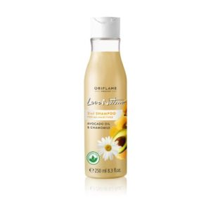 32624 oriflame - Dầu gội Love Nature 2 in 1 Shampoo For All Hair Types Avocado Oil & Chamomile 250ml