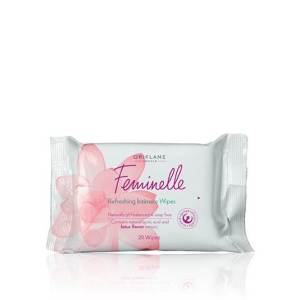 feminelle refreshing intimate wipes oriflame 30004