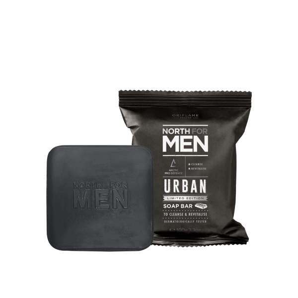 North For Men Urban Soap Bar 34911 oriflame