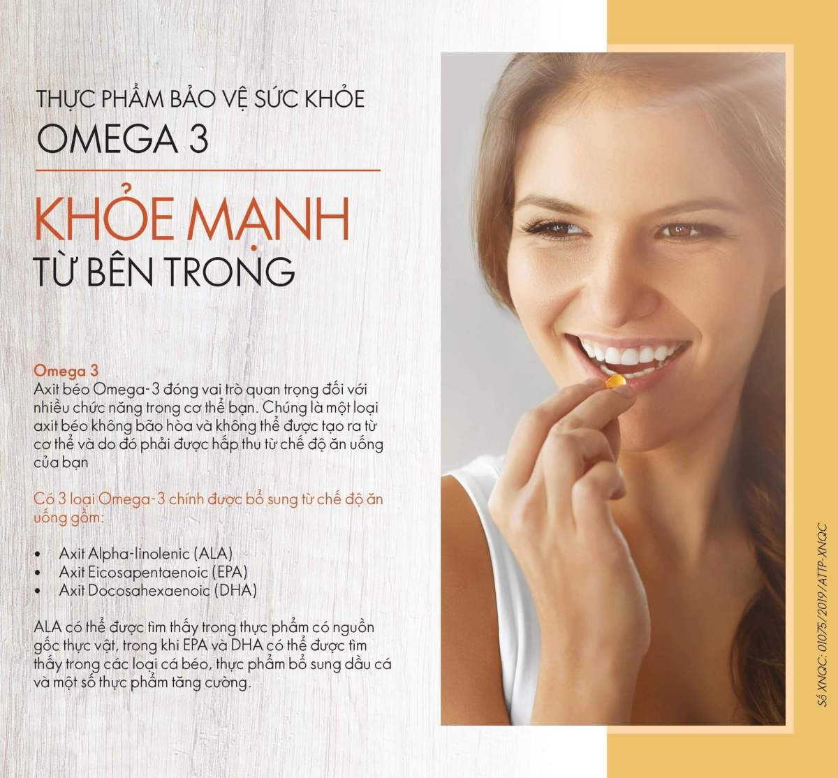 Catalogue thực phẩm bổ sung - Wellness By Oriflame 2019 11