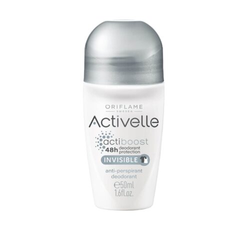 33141 oriflame – Lăn khử mùi Oriflame Activelle Invisible ngừa vệt ố áo – 50ml