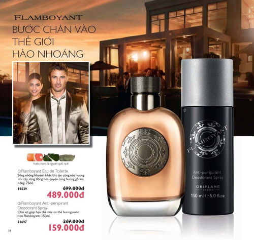 catalogue my pham oriflame thang 6 2017