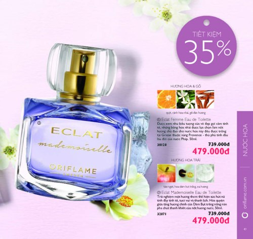 catalogue oriflame thang 6 2018