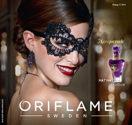 Catalogue mỹ phẩm Oriflame tháng 11-2015