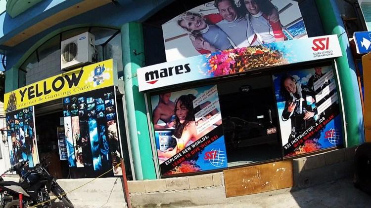 Mares Dive Shop