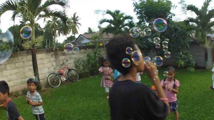 Bubblepalooza.