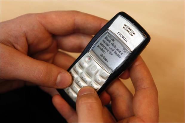 Nokia texting