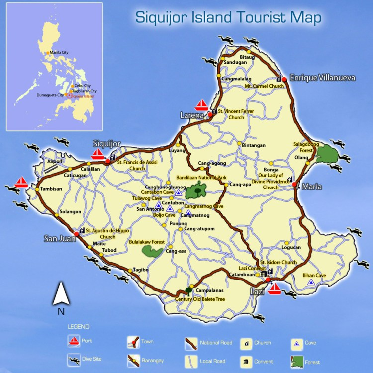 Siquijor-Island-Tourist-Map